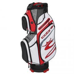 COBRA Ultralight Cart Bag BLACK/ HIGH RISK RED/WHITE