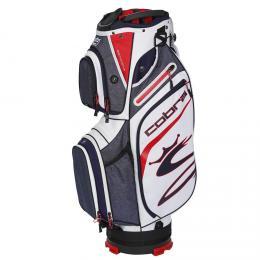 COBRA Ultralight Cart Bag PEACOAT/ HIGH RISK RED/WHITE