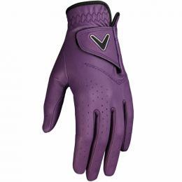 Callaway Opti Color dámská golfová rukavice PURPLE, Velikost S, M, L