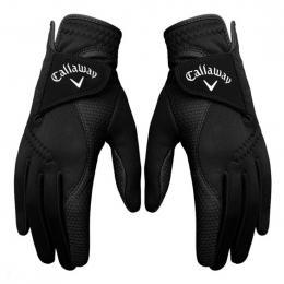 Callaway Thermal Grip dámské golfové rukavice (Pair Pack) BLACK, Velikost S