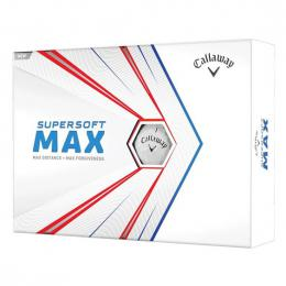 Callaway Supersoft MAX WHITE 2021 golfové míèky  - zvìtšit obrázek