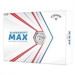 Callaway Supersoft MAX WHITE 2021 golfové míèky