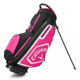 Callaway CHEV Stand Golf Bag BLACK/PINK