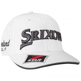 SRIXON Z-STAR TOUR STAFF CAP White/Grey