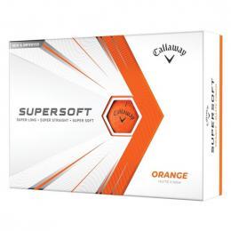 Callaway Supersoft Matte ORANGE 2021 golfové míèky  - zvìtšit obrázek