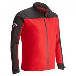 Pánská nepromokavá bunda Callaway Corporate TANGO RED velikost - M, L, XL