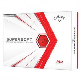 Callaway Supersoft Matte RED 2021 golfové míèky