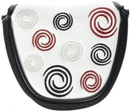 Headcover na putter Odyssey Swirl WHITE Mallet