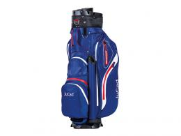 JuCad Manager AQUATA Cart Bag BLUE/WHITE/RED