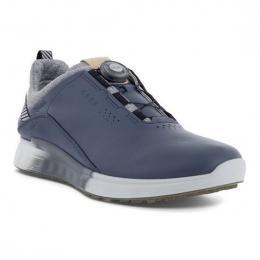ECCO M GOLF S-THREE BOA pánské golfové boty OMBRE/WHITE, velikost 42, 44, 45