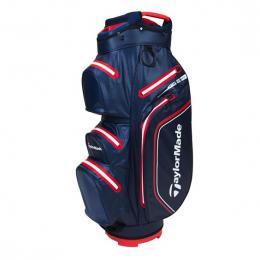 TaylorMade Storm Dry Waterproof Cart Bag NAVY/RED
