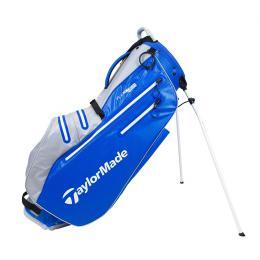 TaylorMade FlexTech Waterproof Stand Bag ROYAL/SILVER
