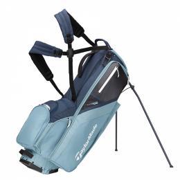 TaylorMade Flextech Stand Bag TITANIUM/BLUE/ STEEL