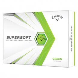 Callaway Supersoft Matte GREEN 2021 golfové míèky - zvìtšit obrázek