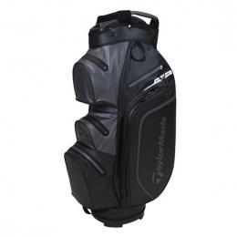 TaylorMade Storm Dry Waterproof Cart Bag BLACK/CHARCOAL