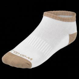 ZOOM ANKLE WHITE/SAND dámské ponožky, 3 páry