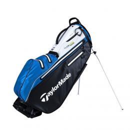 TaylorMade FlexTech Waterproof Stand Bag BLACK/WHITE/BLUE
