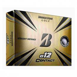 BRIDGESTONE GOLF e12 CONTACT WHITE Golf Balls