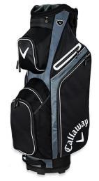 Callaway X Series Cart Bag BLACK/TITANIUM/WHITE