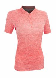 ADIDAS Gradient Golf Polo FLASH RED velikost - S, L
