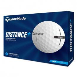 TaylorMade Distance+ golfové míèky WHITE