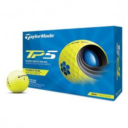TaylorMade TP5 2021 golfové míèky YELLOW