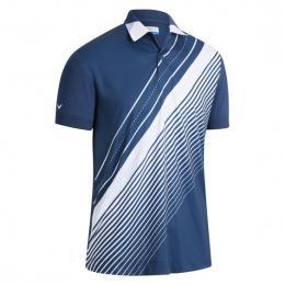 Pánské Polo Callaway Track Printed DRESS BLUES velikost - S, M, L, XL, XXL - zvìtšit obrázek