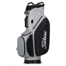 Titleist 14 Lightweight Cart Bag GREY/BLACK/CHARCOAL