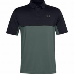 UNDER ARMOUR PERFORMANCE POLO 2.0 COLORBLOCK Black/Grey, Velikost M, L, XL