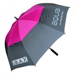 Big Max Aqua UV Umbrella CHARCOAL/FUCHSIA