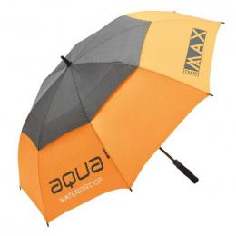 Big Max Aqua UV Umbrella ORANGE/CHARCOAL