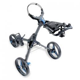 Motocaddy Cube Push Trolley BLACK/BLUE - zvìtšit obrázek