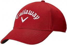 Callaway Side Crested Mens Cap RED