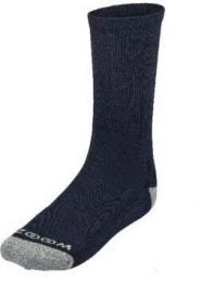 ZOOM CREW LONG NAVY/SILVER pánské ponožky, 3 páry