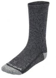 ZOOM CREW LONG WHITE/SILVER pánské ponožky, 3 páry