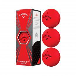 3 ks Callaway SUPERHOT BOLD BALLS matte red - zvìtšit obrázek