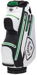 Callaway Chev 14 Dry Cart Bag 2021 WHITE/BLACK/GREEN