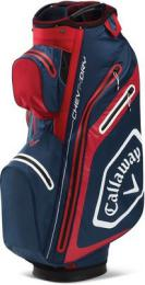 Callaway Chev Dry 14 Cart Bag NAVY/RED/WHITE