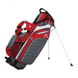 Callaway Hyper Lite5 Stand Bag RED/WHITE/TITANIUM