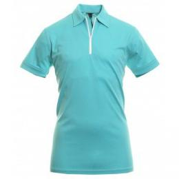 GALVIN GREEN MALCOLM POLO SHIRT Curacao/White, Velikost L