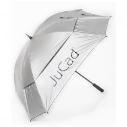 JuCad Windproof Umbrella with pin SILVER