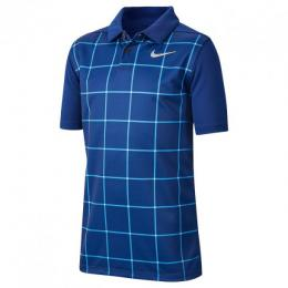Juniorské triko Nike Dry Vapor NAVY/BLUE, Velikost L