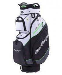 MacGregor Golfový Cart Bag, MAC 14.0 SILVER/BLACK/GREEN