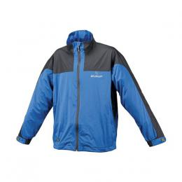 STUBURT JUNIOR VAPOUR WATERPROOF FULL ZIP JACKET, BLUE/BLACK , vìk 8-9 let
