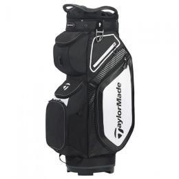 TaylorMade Pro 8.0 Cart Bag BLACK/WHITE/CHARCOAL