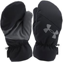 Zimní rukavice Under Armour Golf Cart Mitts Black/Stealth Grey, Velikost S/M