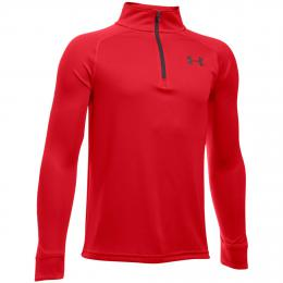 Under Armour MIDLAYER JUNIOR RED velikost - S, M, L, XL