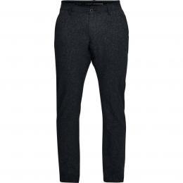 Pánské golfové kalhoty UNDER ARMOUR TAKEOVER VENTED PANT TAPER BLACK, velikost  34/32, 36/32, 38/32, 40/36