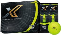 XXIO X Golf Balls Lime Yellow - zvìtšit obrázek